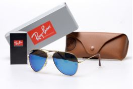 Солнцезащитные очки, Ray Ban Aviator 3026w3278p